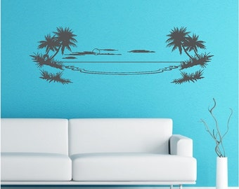 Palm Tree Wall Decal Removable Palm Tree Wall Sticker