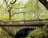 Spring Green in Central Park Photography- Large Wall Art- Glade Arch New York Print NYC Art