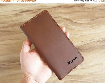 On Sale 10% off womens leather wallet, personalized wallet for men and women