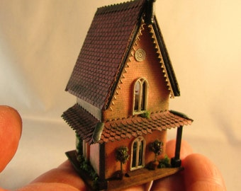 From *DJD* 1/144th scale furnished Gothic cottage.