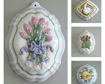 Jello Mold Ceramic Mold Porcelain Mold Hanging Mold Pudding Mold Decorative Mold Country Kitchen Decor Farmhouse Kitchen Retro Kitchen Decor
