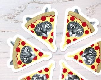 pizza cat stickers