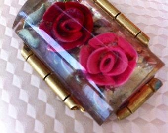 Vintage Antique retro brooch - art deco - jewelry - grandmothers attic - for mom - wedding retro gift