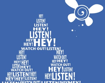 Triforce Navi Hey! Listen! T-shirt