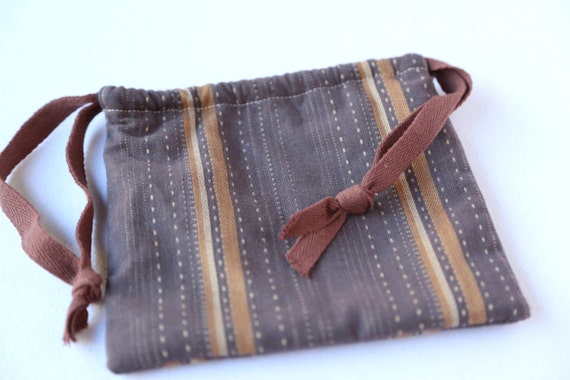 Draw String Bag- Autumn Gold