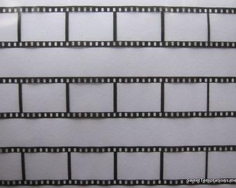 Filmstrip Chocolate Transfer Sheet