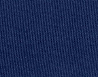 Crossroads Blue Denim Fabric by Amy Barickman Weathered Indigo