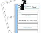 Baptism add on pages for your JaDazzles Baby Memory Book