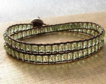 Lichen Wrap Bracelet