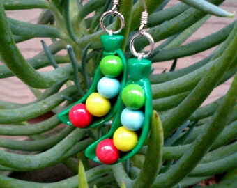 Legend of Zelda Inspired Magic Bean Earring Set