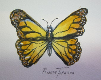 6 Butterflies 4 x 6 Original Watercolor paintings You Choose one or more by WatercolorsNmore