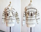 Vintage COWICHAN knit cardigan