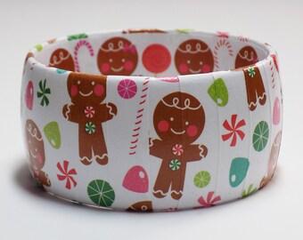 Ugly Christmas Bracelet, Ugly Christmas Sweater Jewelry, Ugly Christmas Sweater Party, Christmas Gingerbread Man Bracelets