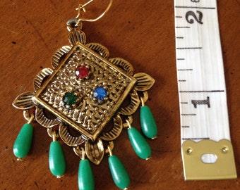Vintage chandelier earrings