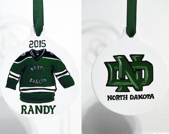 Personalized School Ornaments, Sports Team, Custom, Mascot