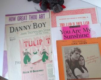Vintage Sheet Music, Sheet Music, Antique Sheet Music, Old Favorite Songs, Favorite Sheet Music, Famous Sheet Music, Piano Sheet Music