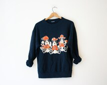 Vintage Blue University of Tennessee UT Volunteers Sweatshirt
