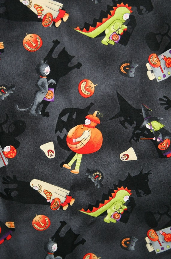Spooky Shadows Trick or Treat Costumes Halloween Pillowcase