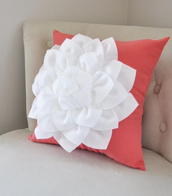 Coral Sofa Pillow: Coral Throw Pillows Decorative Pillows Throw Pillows For Couch