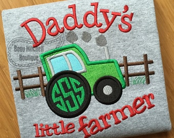 Little farmer applique