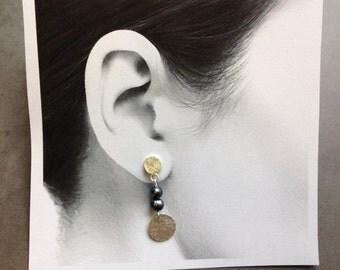 Sterling Silver & Freshwater Pearl Earrings