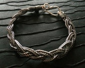 Twisted Braid Silver rope chain bracelet,Men Silver bracelet,silver Chain bracelet women,Men's Jewelry by  Taneesi