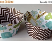 CLOSEOUT SALE Its a Boy Gender Reveal brown chevron Cupcake wrappers SET of 12