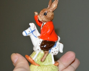 Sale  Vintage 1988 Royal Daulton England William Bunnykins Christmas Doll Bear Figurine