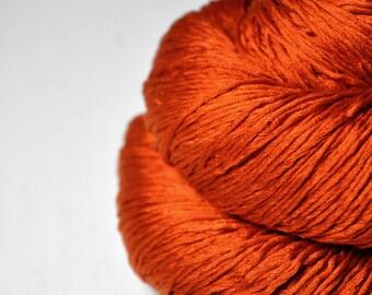 Red-hot metal - Silk Fingering Yarn