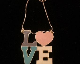 Big Love Charm Necklace