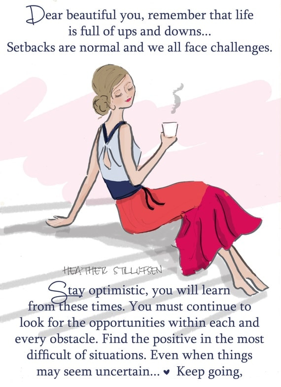 Set Backs are Normal...Quotes for Women Cards for Women