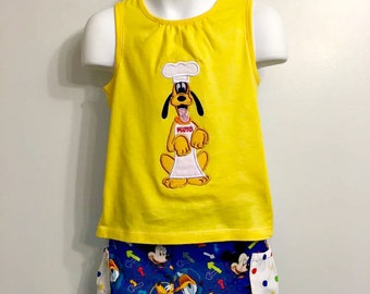 Pluto Fab Five Shorts set 3T