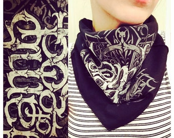 Lamb of God triangle scarf
