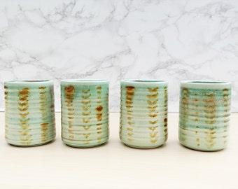 Terra Firma Ceramic Tumbler Set - Set of 4