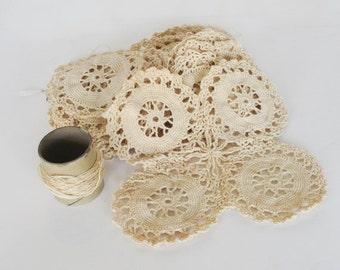 Vintage Crocheted Medallions