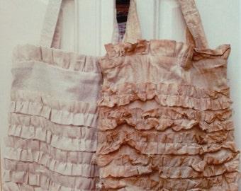 STPB8 Vintage Ruffle Bag Pattern (paper)