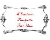 R E S E R V E D for Tania - Custom Cat Poupette