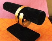 Spring CLEARANCE - Black Velvet Bracelet T Bar. Jewelry display, storage. For shops, stores, fairs. Hold Bangle Bracelets and Cuffs