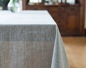 Custom Linen Tablecloth and Napkins