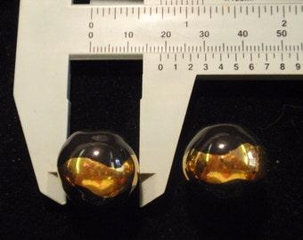 Fair Trade Kazuri, 2 beads, 20mm