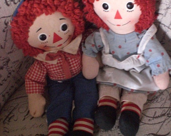 Raggedy Ann, Raggedy Andy, Knickerbocker, Music box
