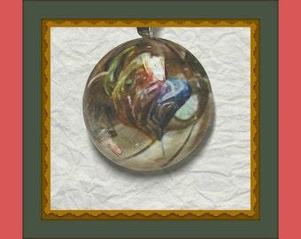 Bernadette Glass Pendant