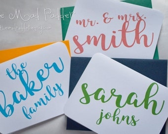 Marvelous Personalized Note Cards - Custom Made