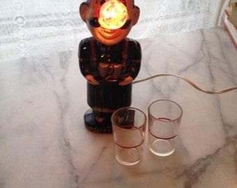 1960s Bar Accessory - Joe The Bartender Light up nose