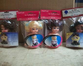 Packaged FibreCraft Air Freshener Doll