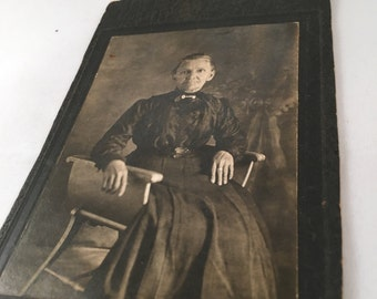 Antique Photo - Lady in a Chair