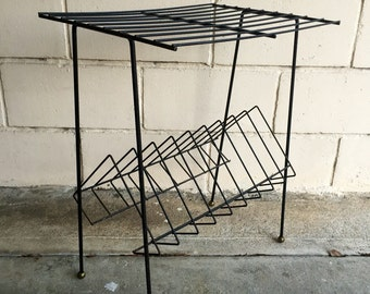 Mid Century Atomic Wire Stand