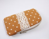 iPhone 6,iPhone 6 plus,iPhone  5/5S/5C Case /Sleeve / padded zipper pouch wallet  with 2 interior pocket