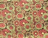Urban Chiks Blossom Mosaic brown FQ or more