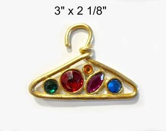 Big Hanger Brooch Magnet Upcycled Vintage Jewelry
